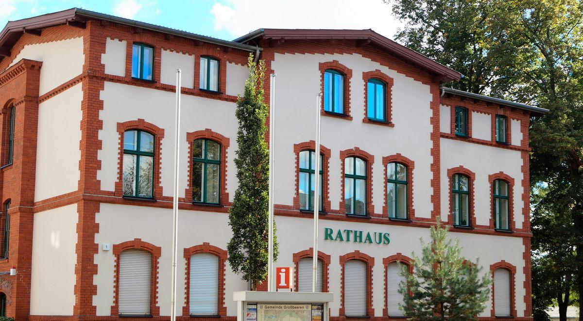 Rathaus der Gemeinde Großbeeren