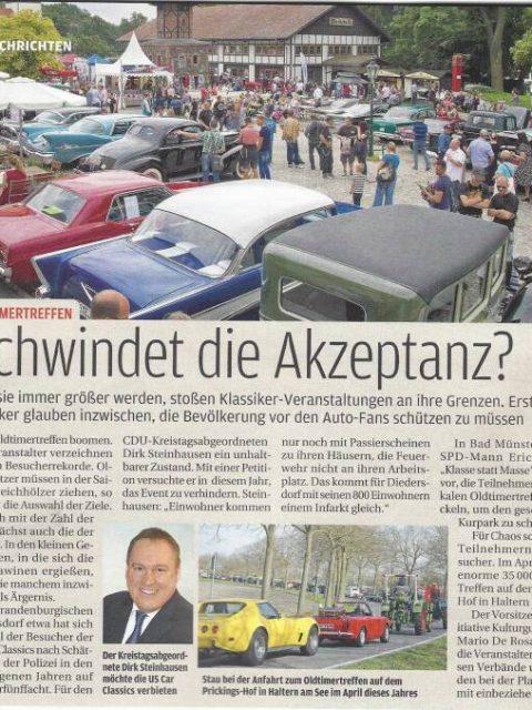 Presseecho aus der AutobildKlassik 08/2015
