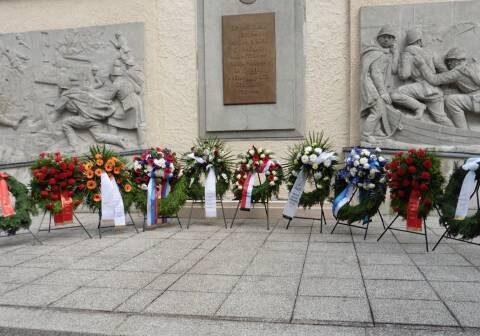 Impressionen der zentrale Gedenkveranstaltung des Landkreises Teltow-Fläming anlässlich des 70. Jahrestages des Endes des 2. Weltkrieges